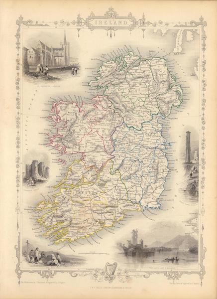 The Illustrated Atlas - Ireland (1851)