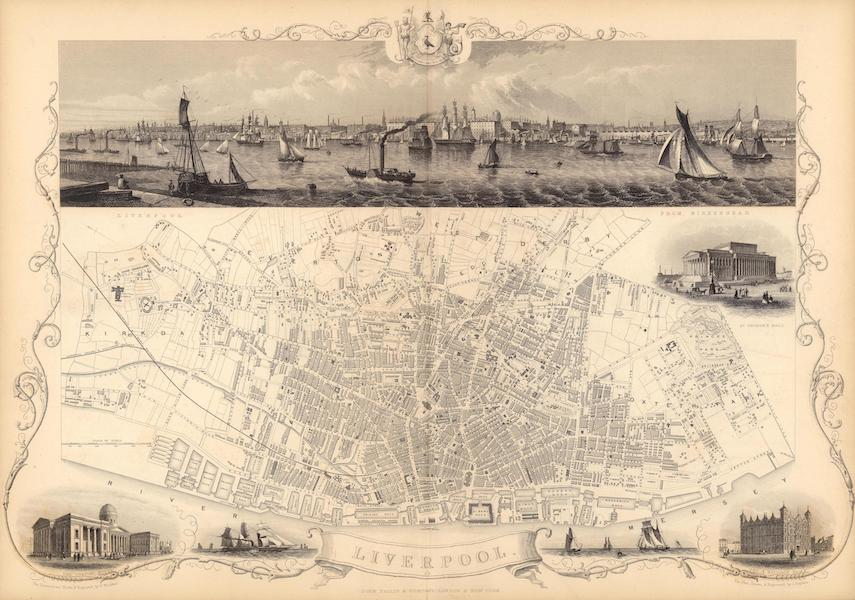 The Illustrated Atlas - Liverpool (1851)