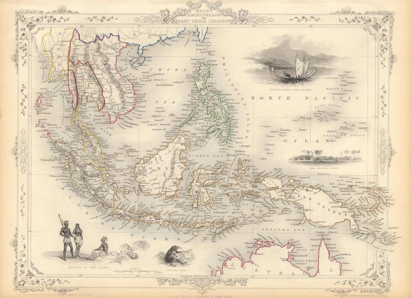 The Illustrated Atlas - Malay Archipelago, or East India Islands (1851)