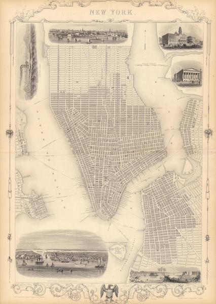 The Illustrated Atlas - New York (1851)