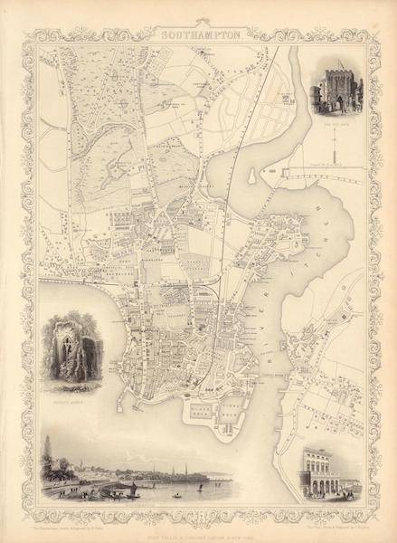 The Illustrated Atlas - Southampton (1851)