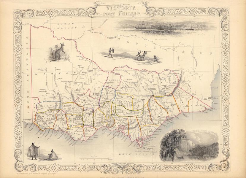 The Illustrated Atlas - Victoria or Port Phillip (1851)