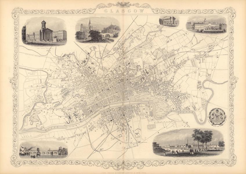 The Illustrated Atlas - Glasgow (1851)
