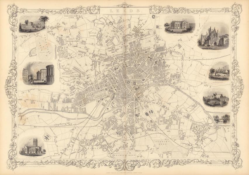 The Illustrated Atlas - Leeds (1851)