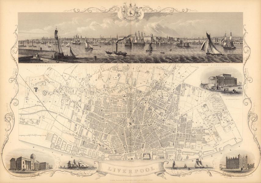 The Illustrated Atlas - Liverpool (1851)
