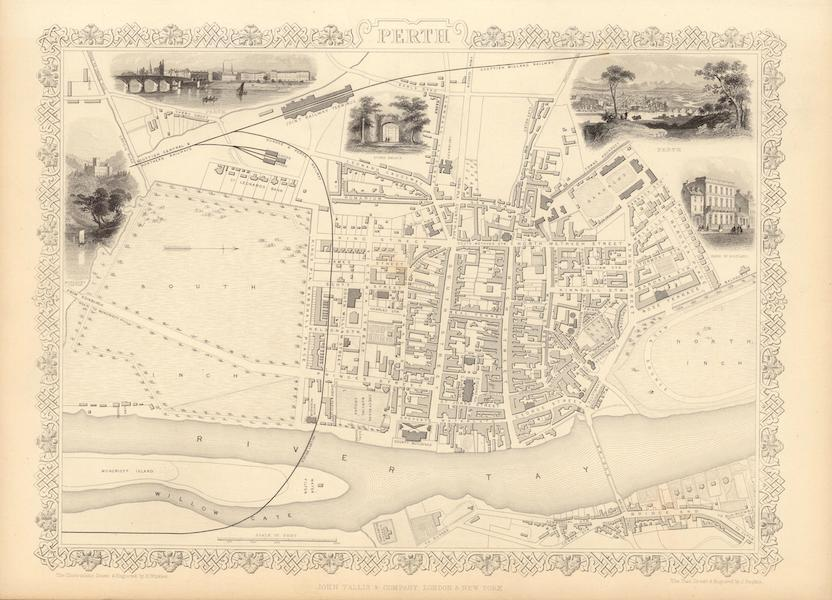 The Illustrated Atlas - Perth (1851)