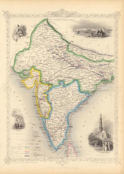 The Illustrated Atlas - British India (1851)