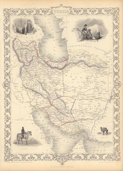 The Illustrated Atlas - Persia (1851)
