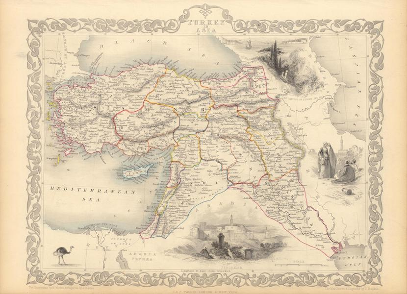 The Illustrated Atlas - Turkey in Asia (1851)