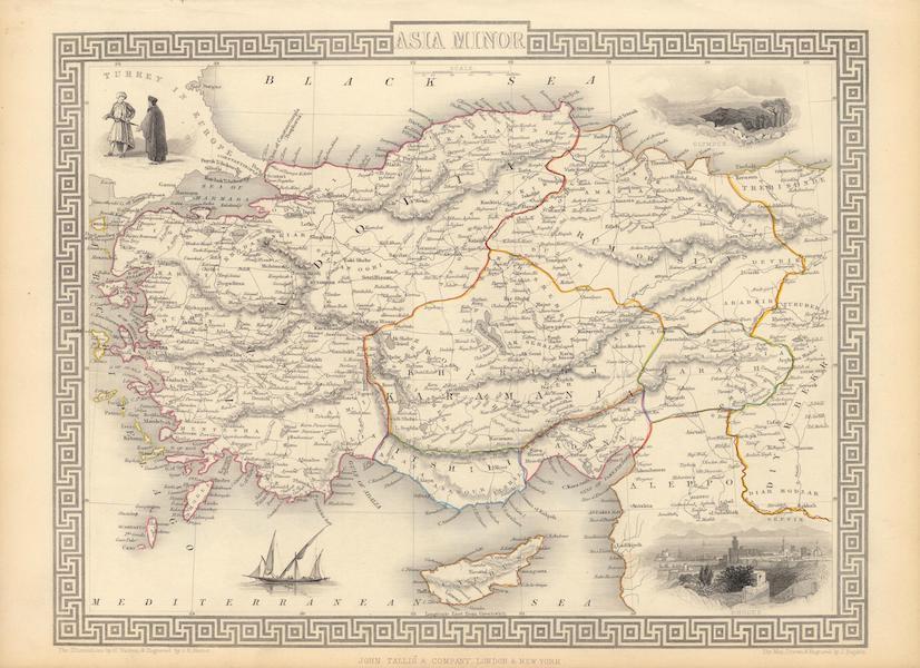 The Illustrated Atlas - Asia Minor (1851)