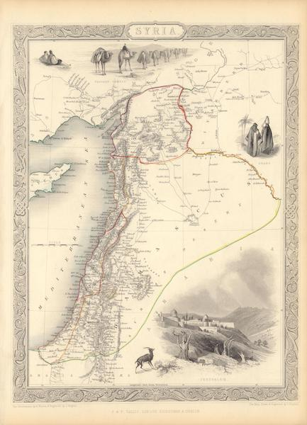 The Illustrated Atlas - Syria (1851)