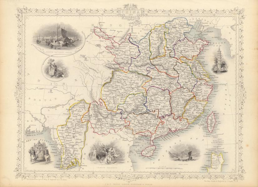 The Illustrated Atlas - China and Burmah (1851)