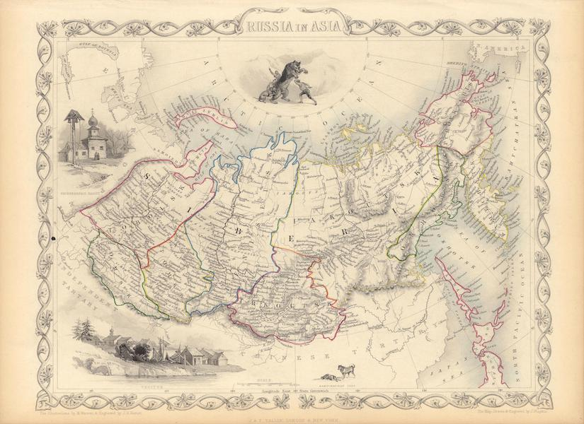 The Illustrated Atlas - Russia in Asia (1851)