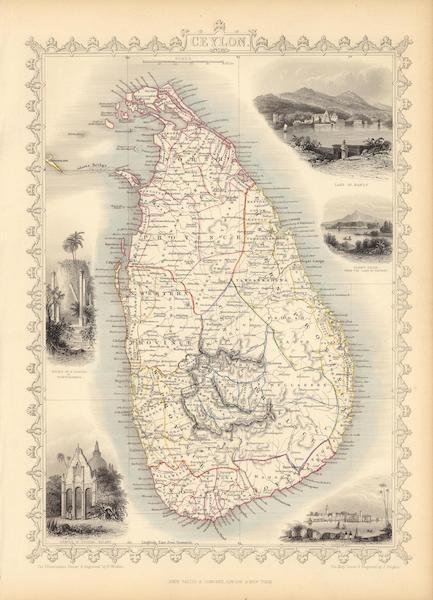 The Illustrated Atlas - Ceylon (1851)