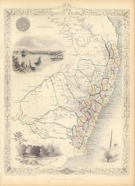 The Illustrated Atlas - New South Wales (1851)