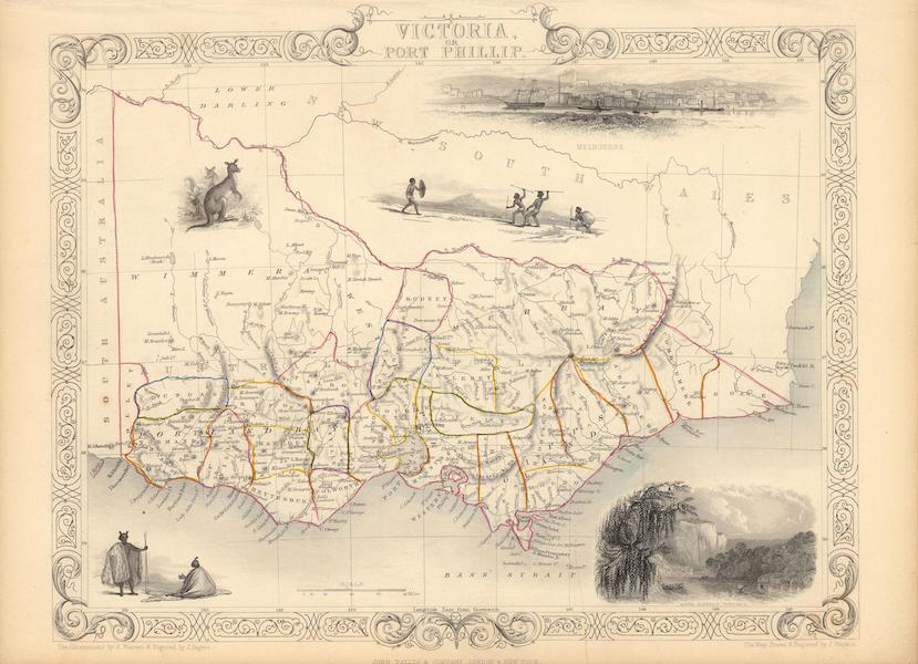 The Illustrated Atlas - Victoria or Port Phillip (1851)