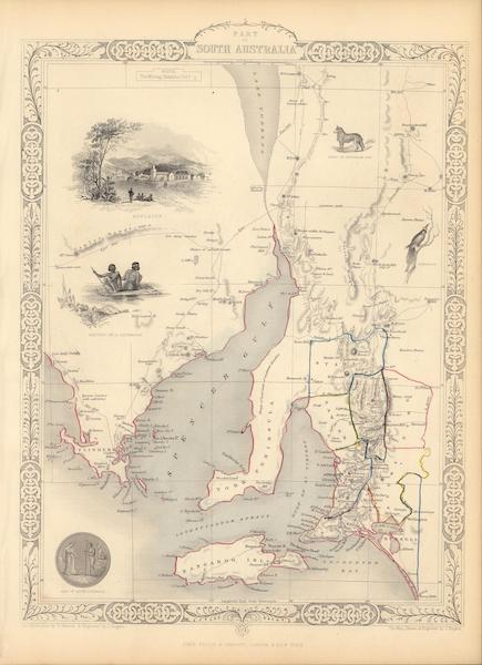 The Illustrated Atlas - Part of South Australia (1851)