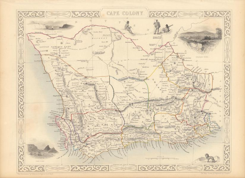 The Illustrated Atlas - Cape Colony (1851)