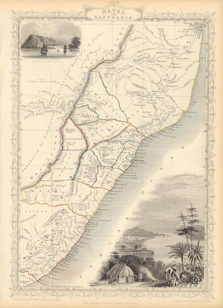 The Illustrated Atlas - Natal and Kaffraria (1851)