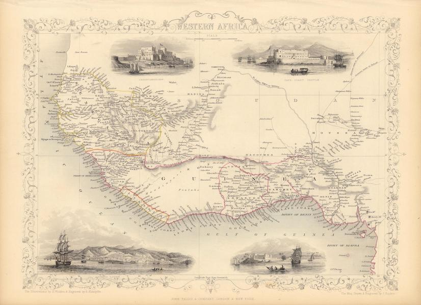 The Illustrated Atlas - Western Africa (1851)