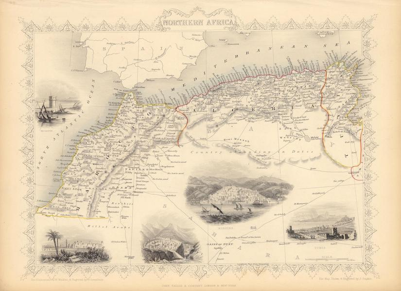 The Illustrated Atlas - Northern Africa (1851)
