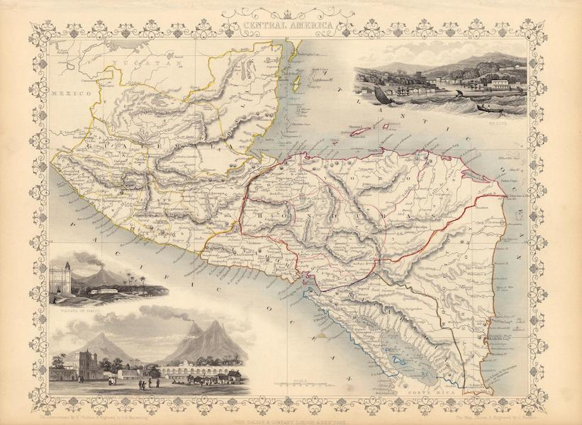The Illustrated Atlas - Central America (1851)
