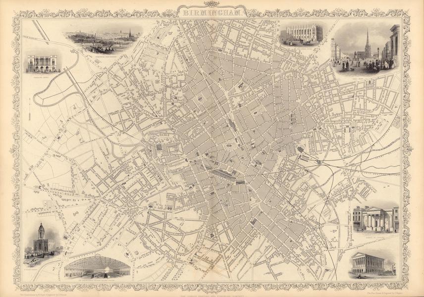 The Illustrated Atlas - Birmingham (1851)