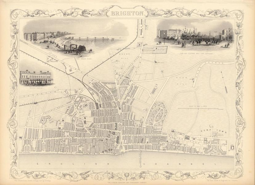 The Illustrated Atlas - Brighton (1851)
