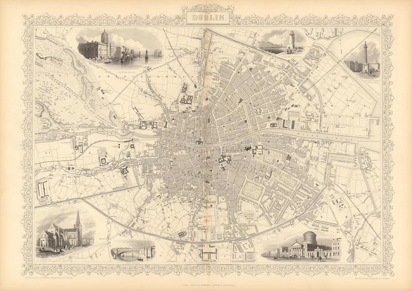 The Illustrated Atlas - Dublin (1851)