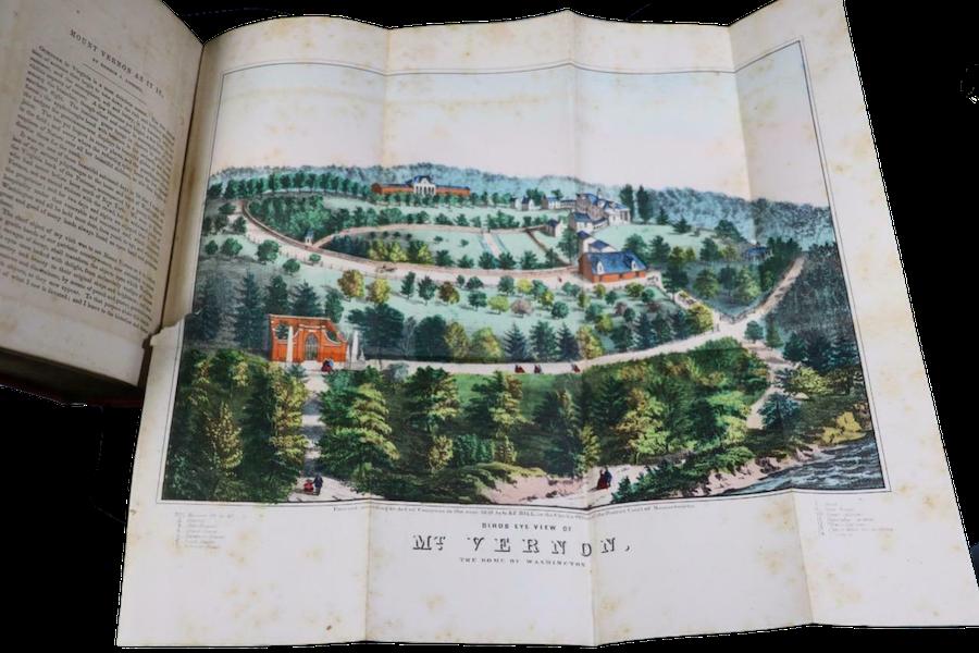 The Illustrated Life of Washington - Book Display [IV] (1859)