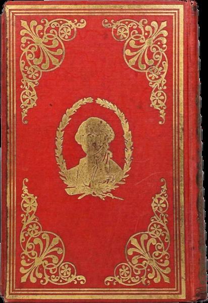 The Illustrated Life of Washington - Book Display [VII] (1859)