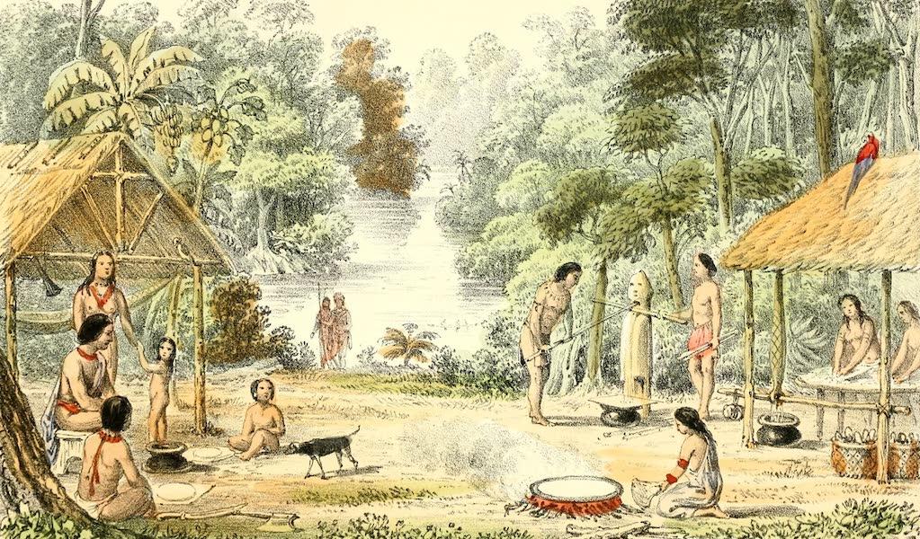 The Indian Tribes of Guiana - Sambura (1868)