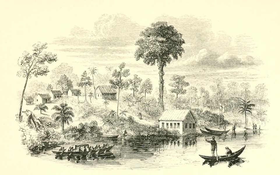 The Indian Tribes of Guiana - Indian Mission at Pomeroon, 1846 (1868)