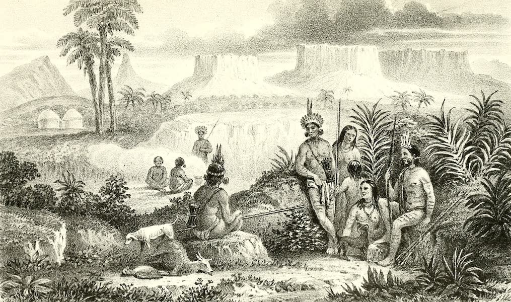 The Indian Tribes of Guiana - Arecuna Indians (1868)