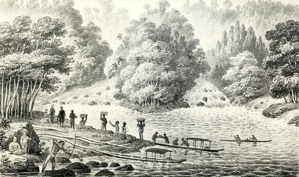 The Indian Tribes of Guiana - Demerara Falls (1868)