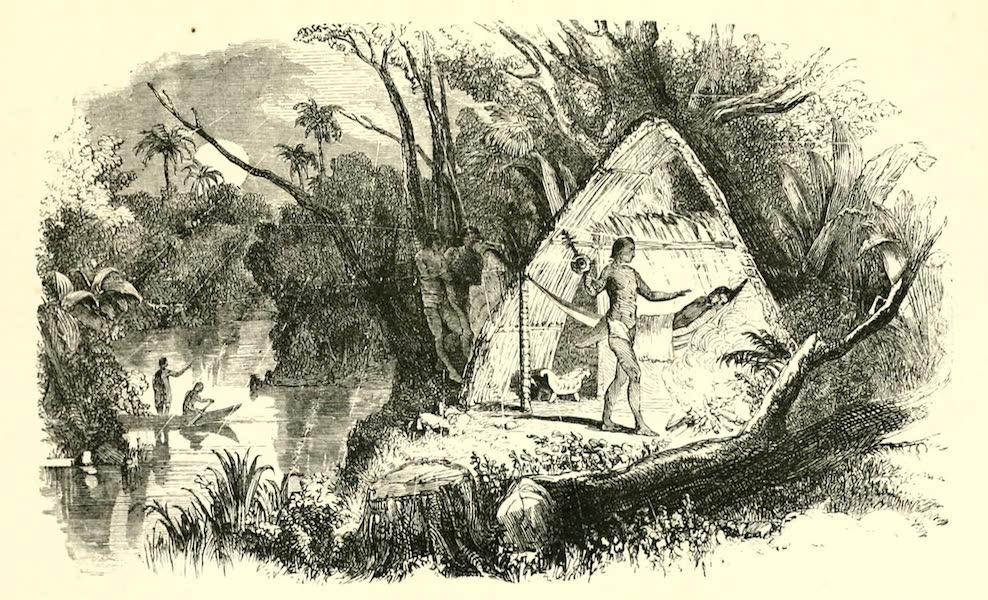 The Indian Tribes of Guiana - Indian Sorcerer (1868)