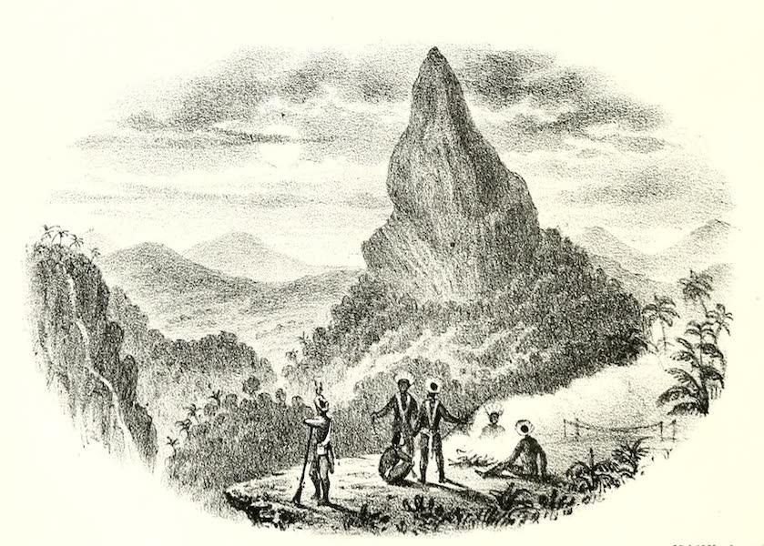 The Indian Tribes of Guiana - Ataraipu, or Devil's Rock (1868)
