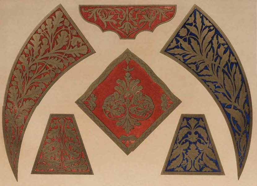 The Industrial Arts of the Nineteenth Century Vol. 1 - Embroidery in Bullion, from Tunis (1851)