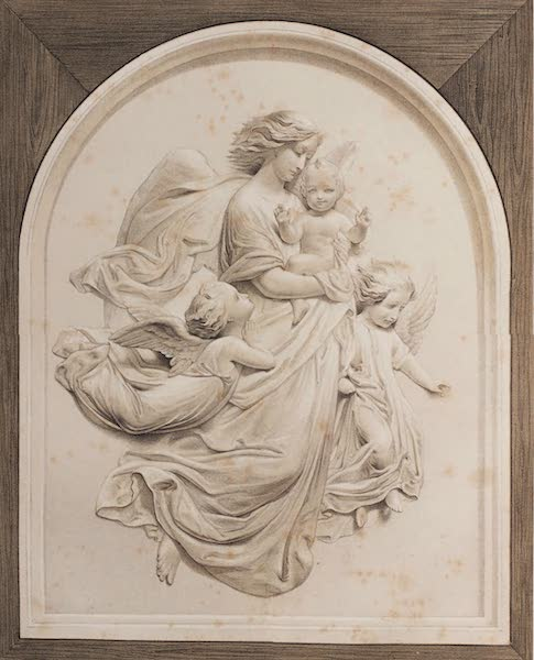 """The Industrial Arts of the Nineteenth Century Vol. 1 - The Christ Child (""""Christ Engel"""") by Rietschel, Dresden (1851)"""