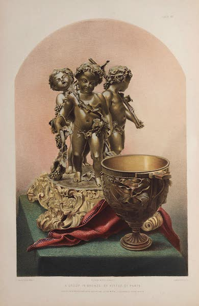 The Industrial Arts of the Nineteenth Century Vol. 1 - A Group in Bronze by Vittoz, Paris (1851)