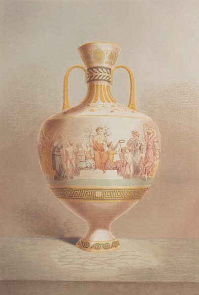 """The Industrial Arts of the Nineteenth Century Vol. 1 - Vase, """"La Gloire"""" by Royal Manufactory at Sevres (1851)"""