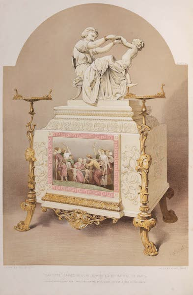 The Industrial Arts of the Nineteenth Century Vol. 1 - Casette, or Jewel-case, carved in Ivory by Matifat, Paris (1851)