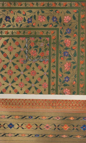 The Industrial Arts of the Nineteenth Century Vol. 1 - Kincob Pattern, woven at Ahmedabad (1851)