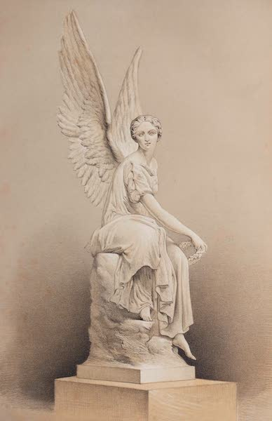 The Industrial Arts of the Nineteenth Century Vol. 1 - Victory by Rauch, Berlin (1851)