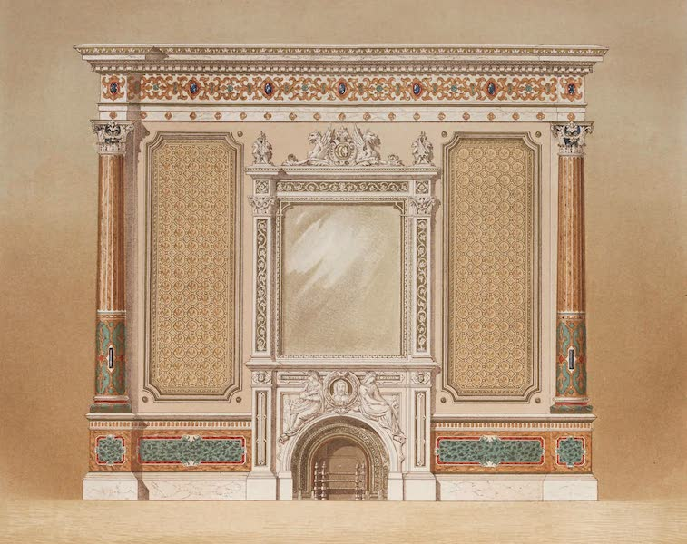 The Industrial Arts of the Nineteenth Century Vol. 1 - Decoration of an Apartment by John Thomas, London (1851)