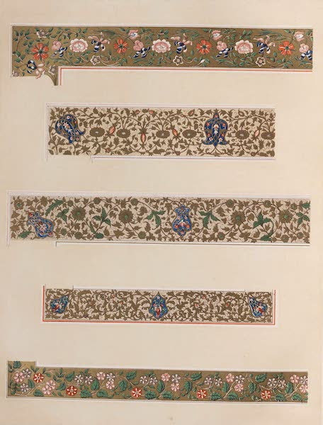 The Industrial Arts of the Nineteenth Century Vol. 1 - Borders from Illuminated Manuscripts (1851)
