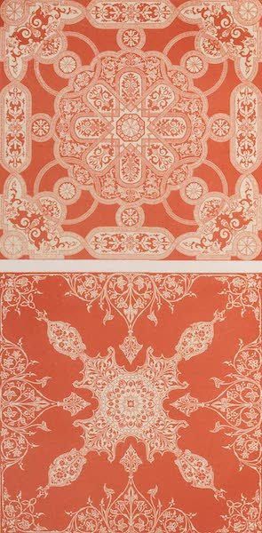 The Industrial Arts of the Nineteenth Century Vol. 1 - Damask Table-covers by Beveridge, Dunfermline (1851)