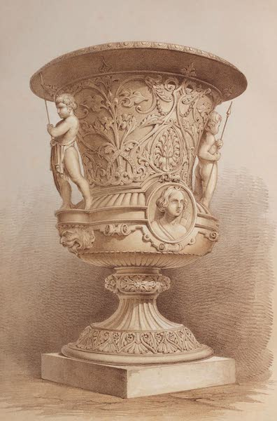 The Industrial Arts of the Nineteenth Century Vol. 1 - Vase in Terra-Cotta Modelled by John Thomas, London, for E. L. Betts, Esq. (1851)
