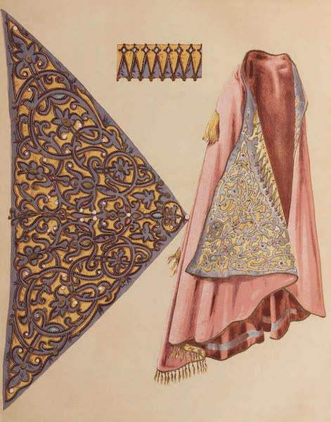 The Industrial Arts of the Nineteenth Century Vol. 2 - Albanian Costume Embroidery (1851)