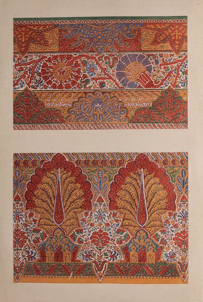 The Industrial Arts of the Nineteenth Century Vol. 2 - Portion of Shawls by Roxburgh and Co. Paisley (1851)